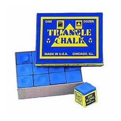 Triangle Blue Chalk Dozen